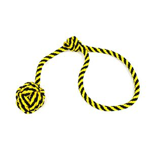 Szarpak z jedną kulką żółty