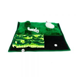 Plac zabaw dla kota – zielony