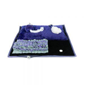 Plac zabaw dla kota – fioletowy
