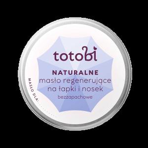 Naturalne masło regenerujące na łapki i nosek bezzapachowe TOTOBI